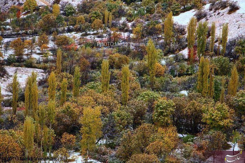 پاییز برفی خلخال