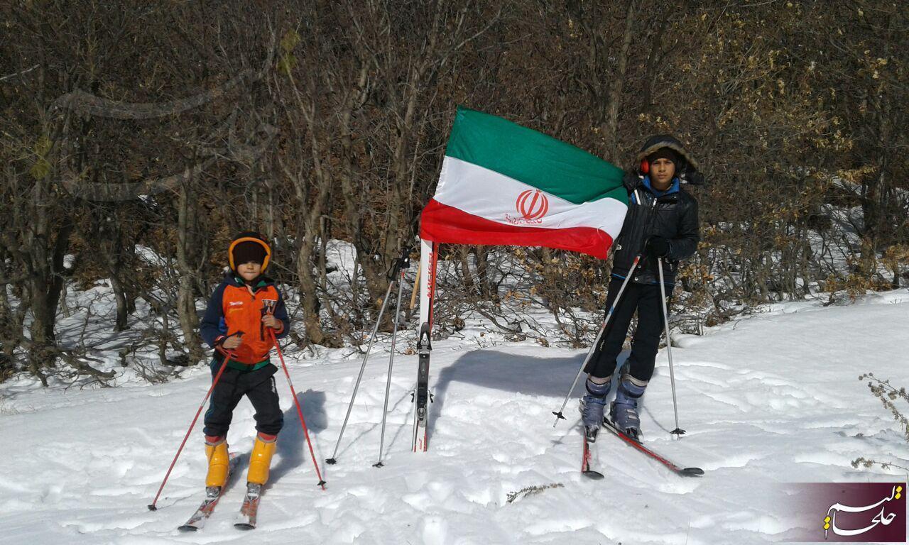 پیست اسکی اندبیل خلخال در 22 بهمن